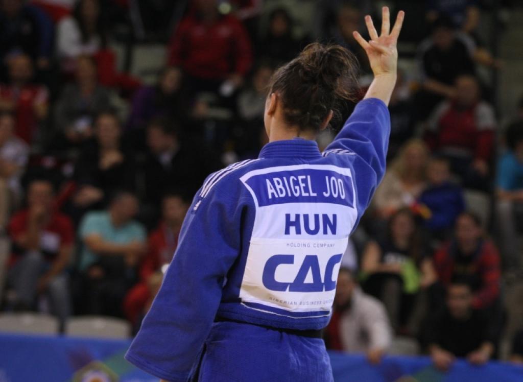 Abigel Jóo writes history at European U23 Championships