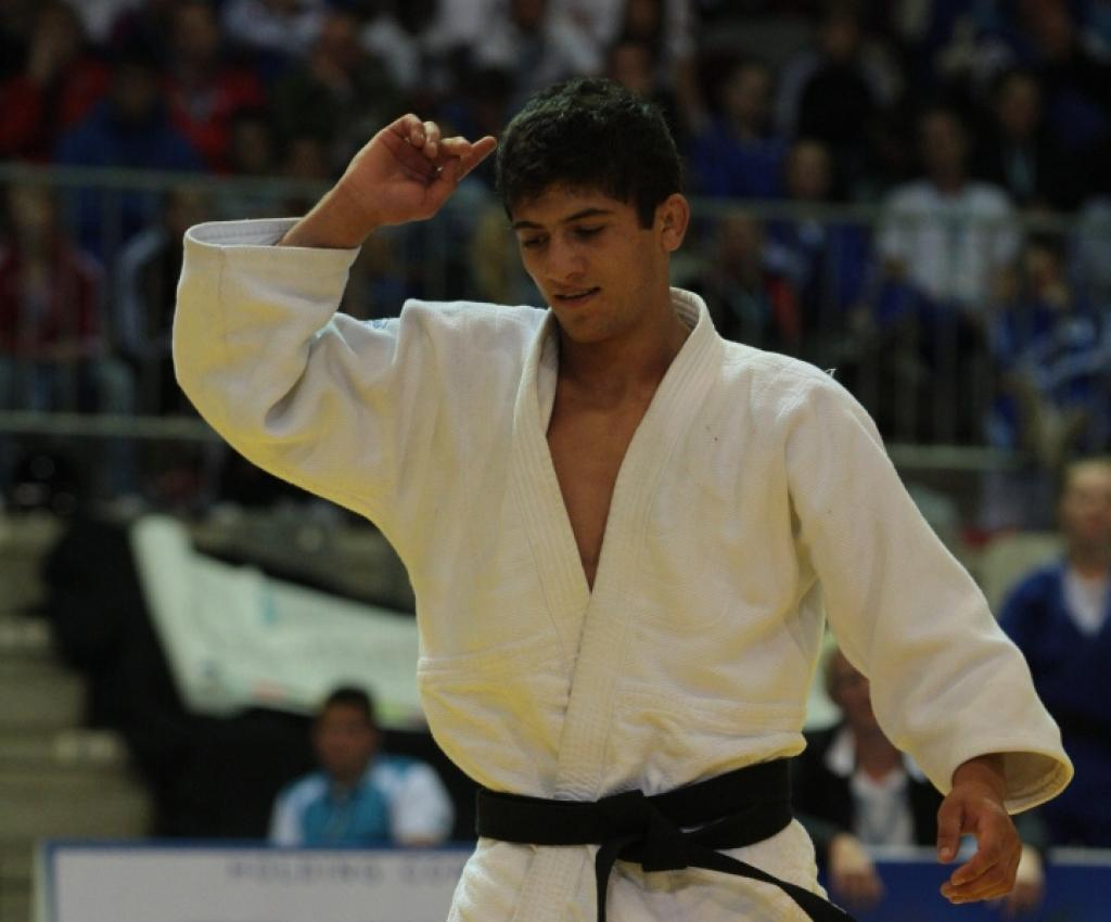 What happened in the men's U66kg at the 2012 Olympic Games