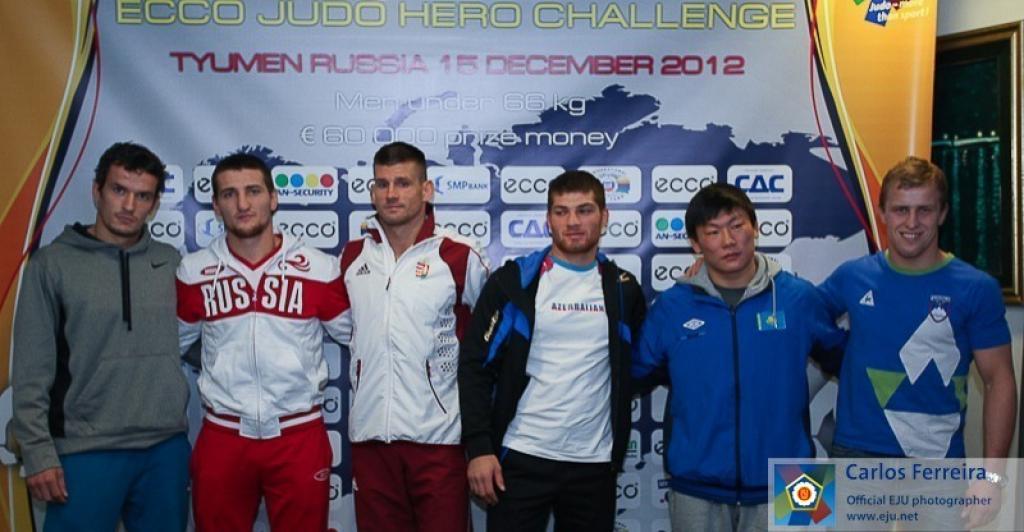 Spectacular ECCO Judo Hero Challenge in Tyumen