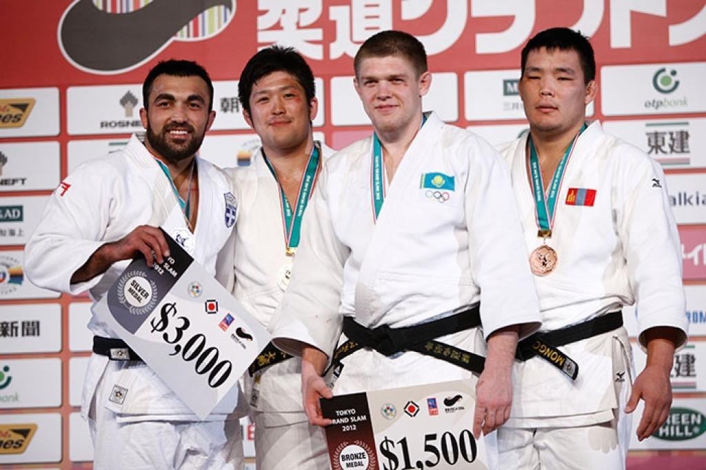 Iliadis close to gold U100kg at Grand Slam Tokyo