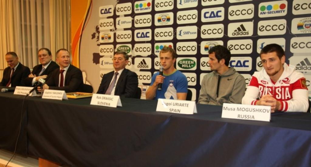 Press conference highlights ECCO Judo Hero Challenge