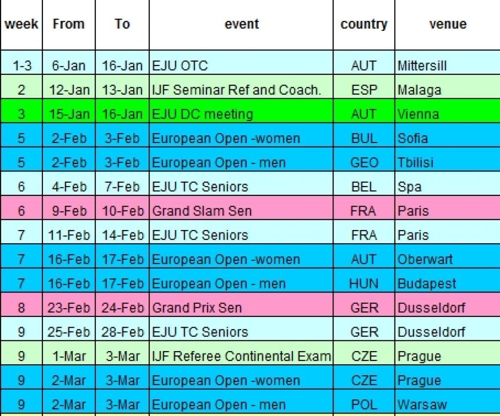 Download the latest international Calendar