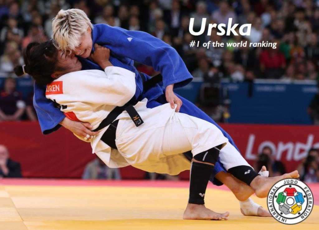 Urska Zolnir leading the IJF World Ranking