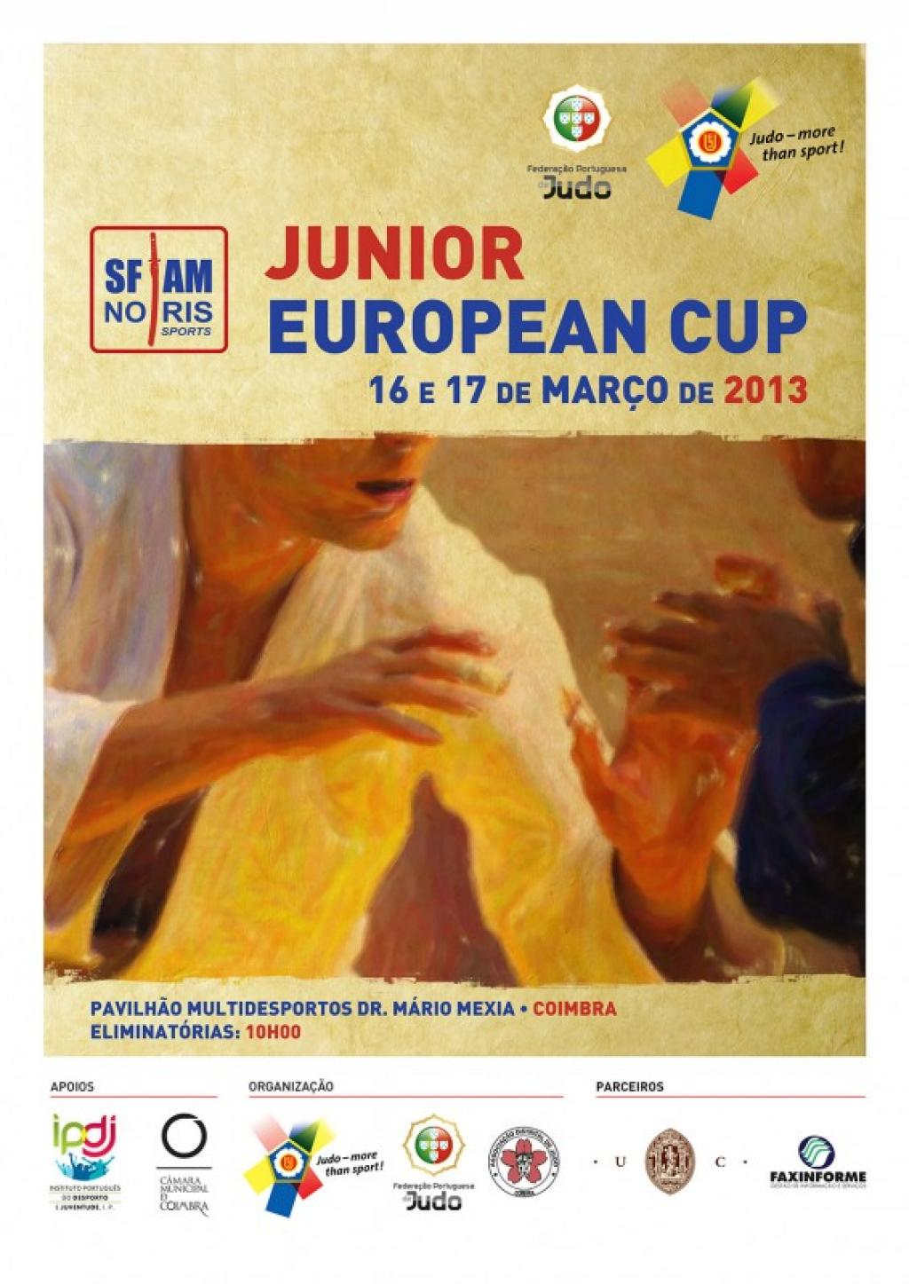 Coimbra junior European Cup great source for big success