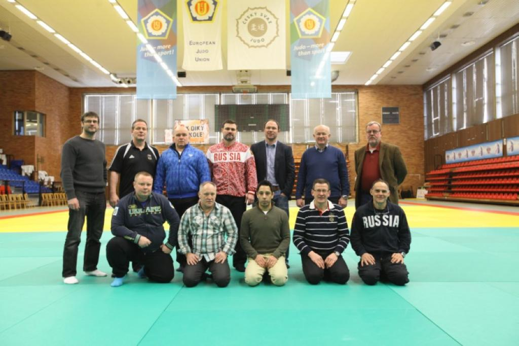 EJU Coaches commission presents new members in Nymburk