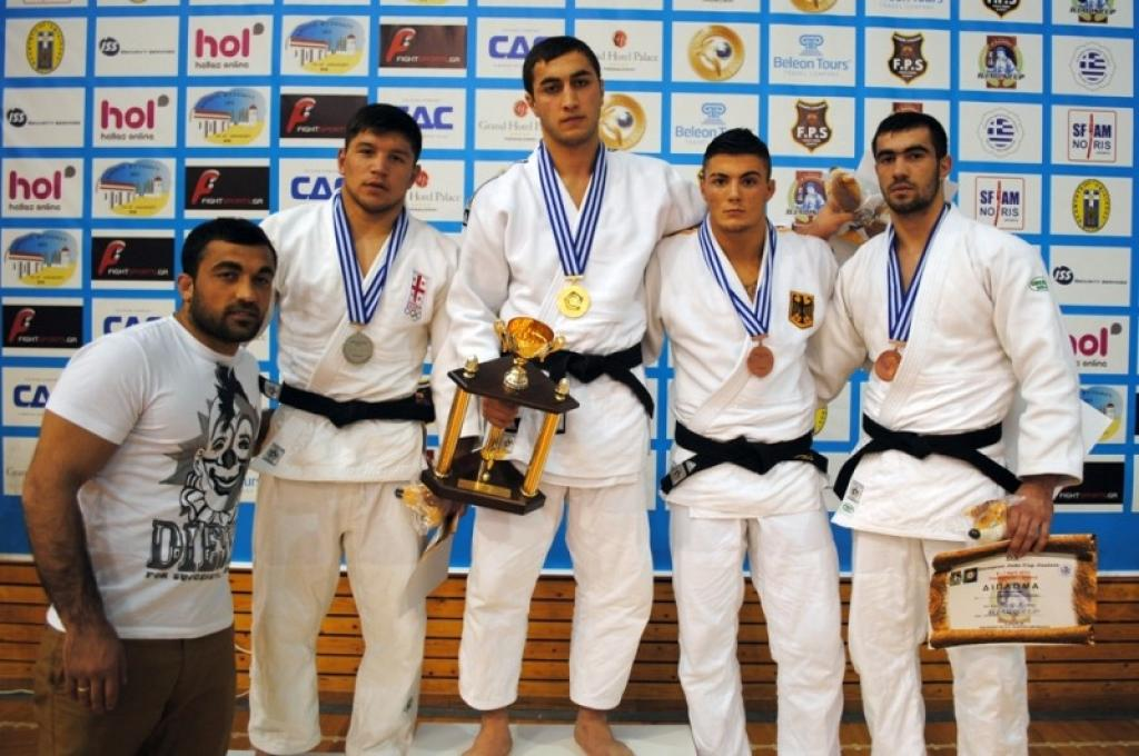 Georgian men shine at Junior European Cup Thessaloniki