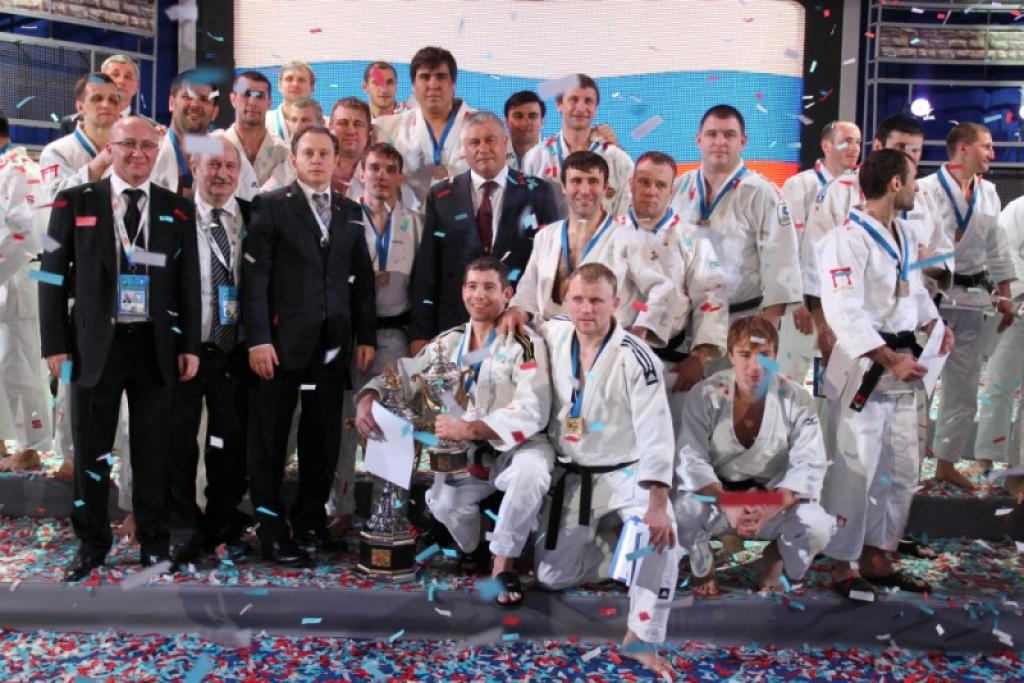 Police of Russia claims victory at Int. Judo Tournament