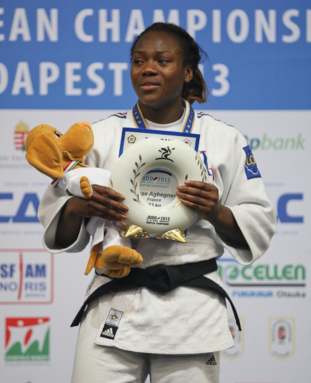 Agbegnenou adds European title to successful 2013