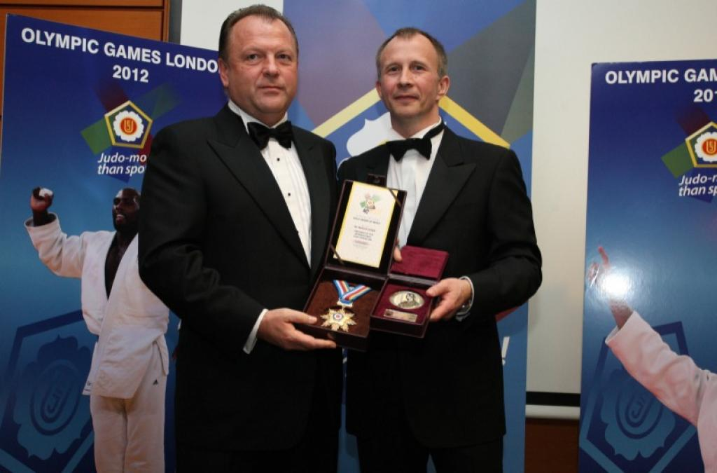 Awards for top athletes at EJU Gala in Budapest