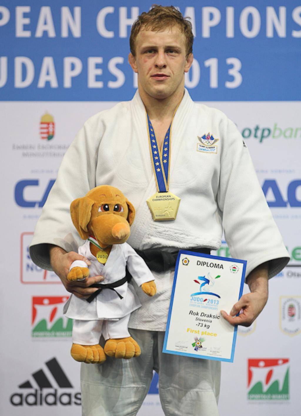 Rok Draksic claims first make European title for Slovenia