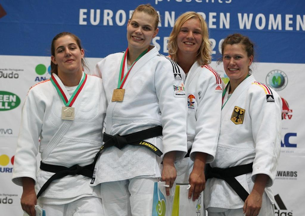 Netherlands and Germany share medals at European Open in Lisbon