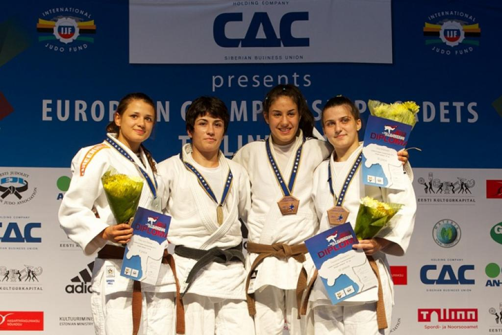 Georgia's female judoka are catching up