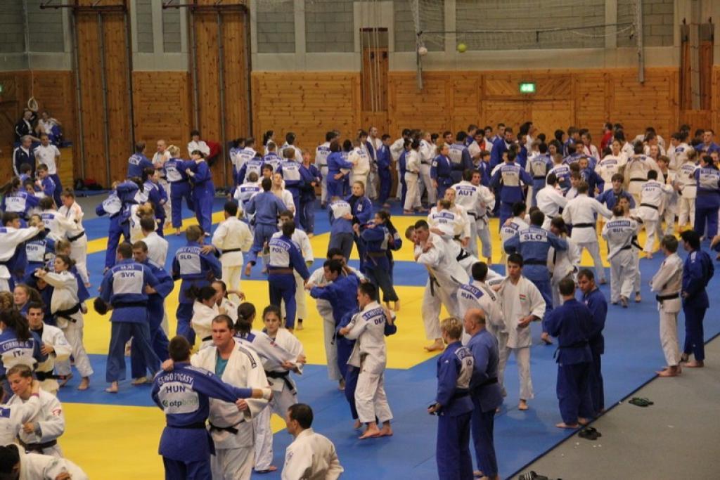 Judo is a profession, Training Camp in Leibnitz attract many judoka
