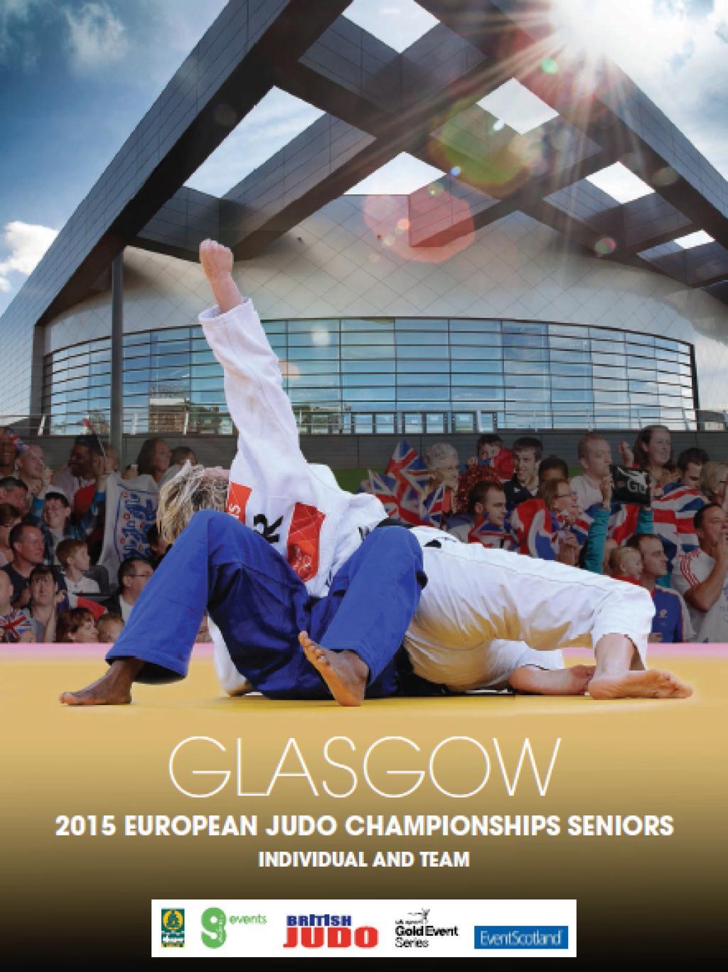 Glasgow to host 2015 European Judo Championships