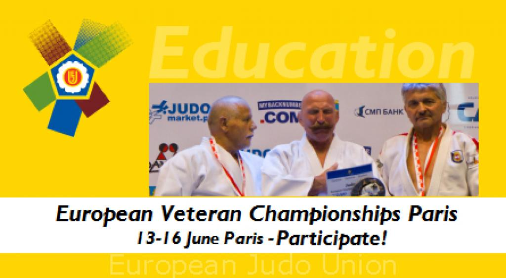 More than 1000 participants at the European Championships for Veterans