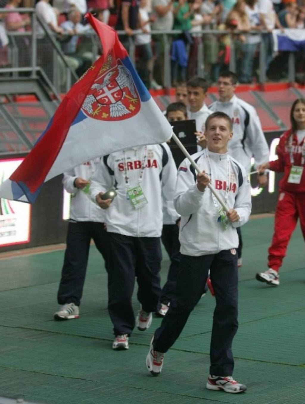 Judo has prominent role at opening ceremony of EYOF Utrecht