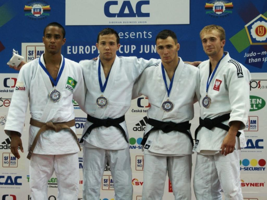 Polish and Slovenian judoka shine in international field in Liberec
