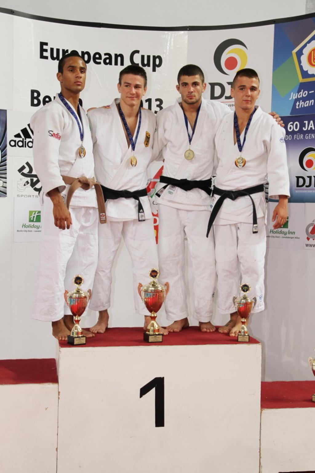 Traditional strong judoka at European Cup for Juniors in Berlin