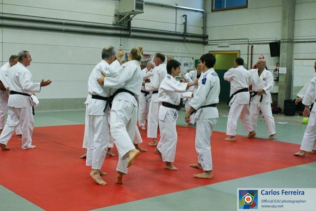 Education Seminar in Wavre ends on the tatami with mix of practices