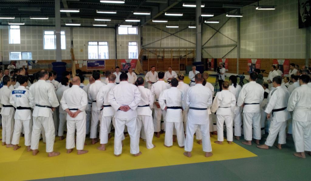 Successful EJU Seminar Judo Club Expert in Madrid