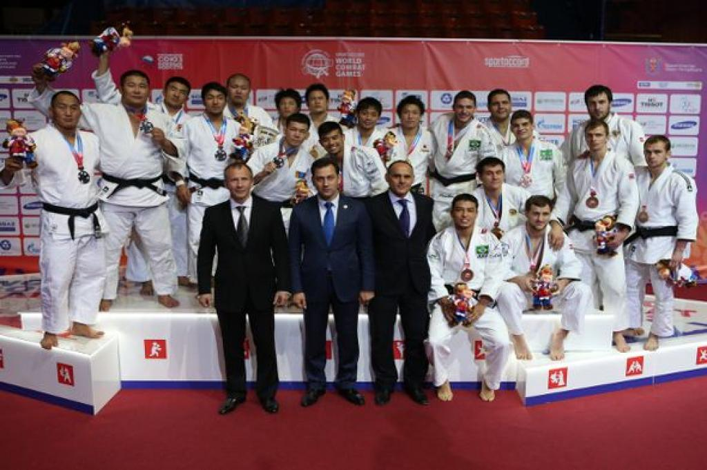 Japan takes the double at the SportAccord World Combat Games