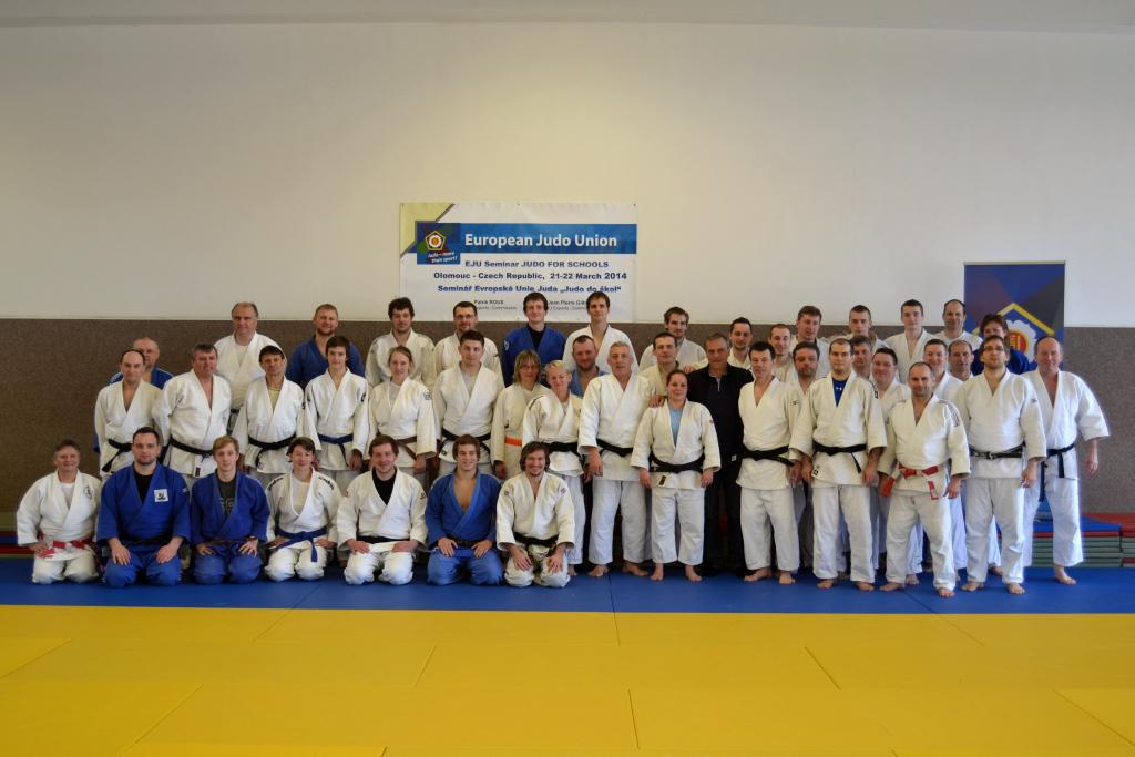 Judo at School Seminar in OLOMOUC, Czech Republic
