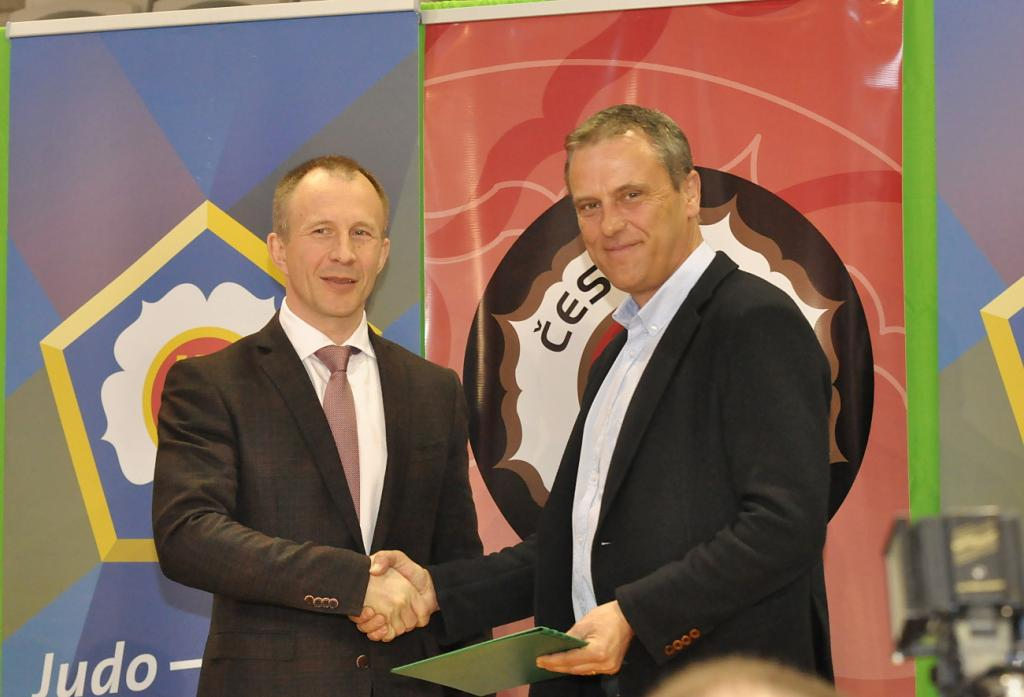 MOU signed between Czech Judo Federation, Olomouc Region and EJU
