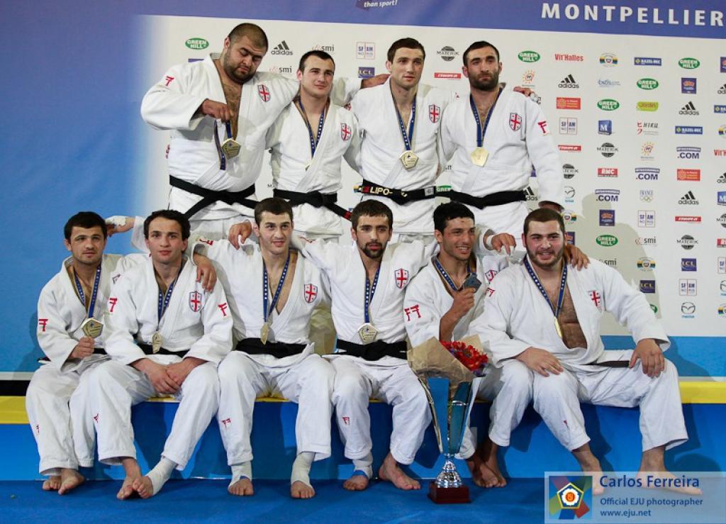 France and Georgia take team gold at European Judo Championships