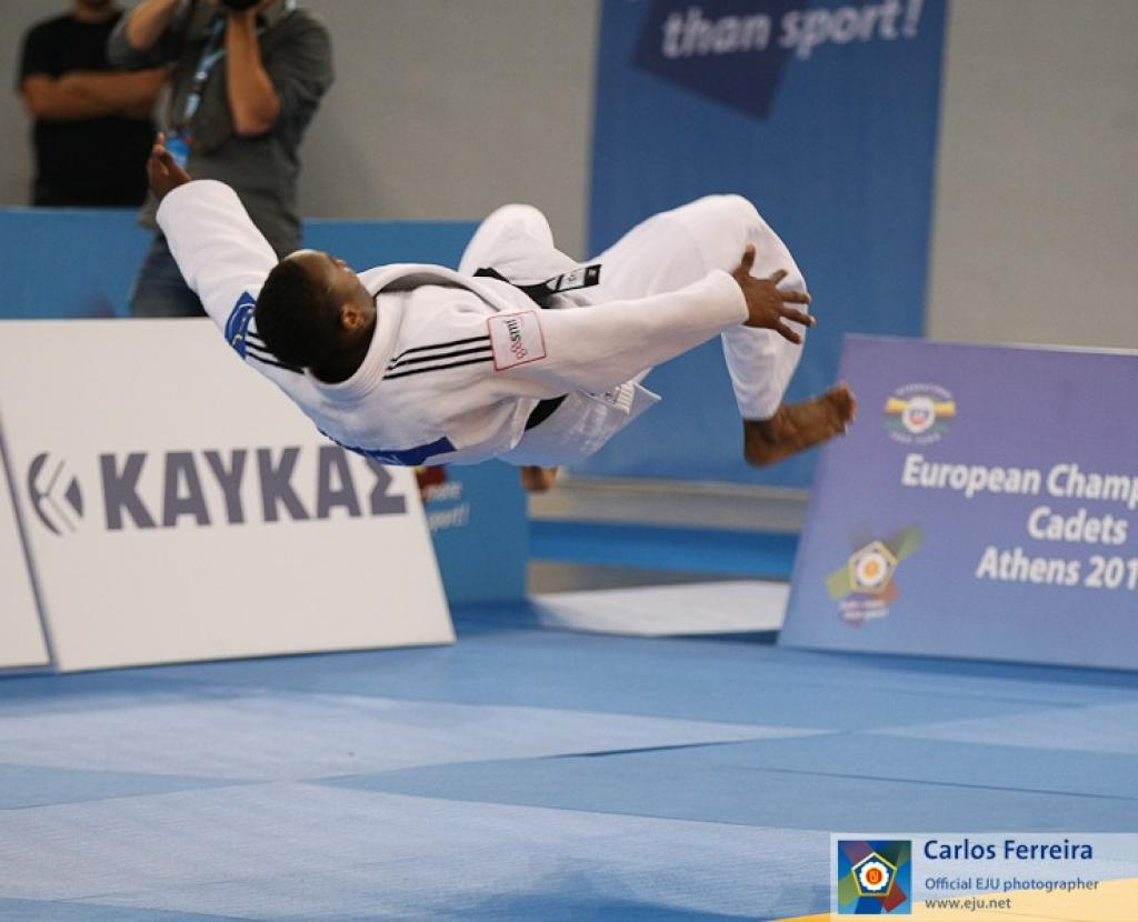 FRANCE TAKES LEAD AT THE EUROPEAN CADET CHAMPIONSHIPS