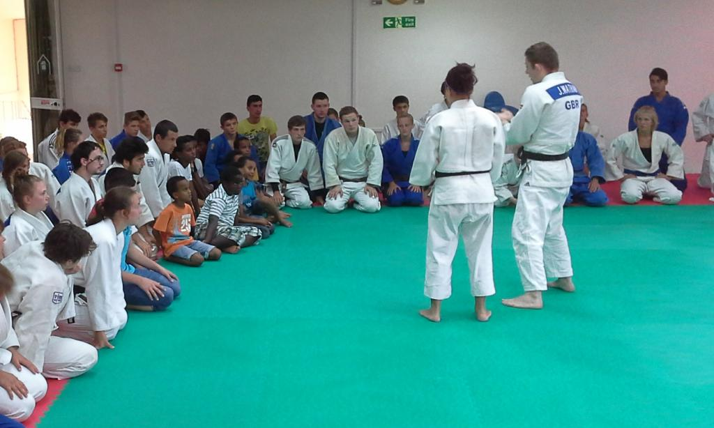 EU FUNDED JUDO FOR PEACE PROJECT HUGE SUCCESS