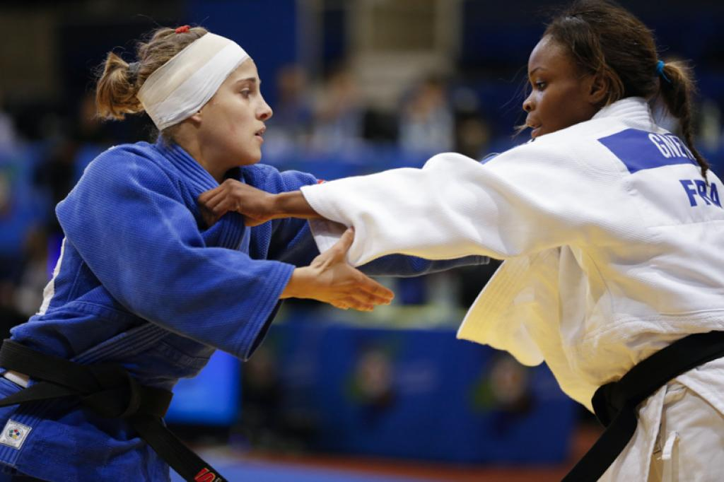 GIUFFRIDA SHOWS CONTINUED PROGRESS IN GOLD MEDAL PERFORMANCE