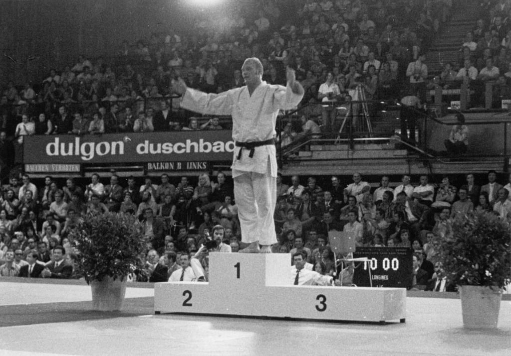 FORMER OLYMPIC JUDO CHAMPION WILLEM RUSKA PASSES AWAY