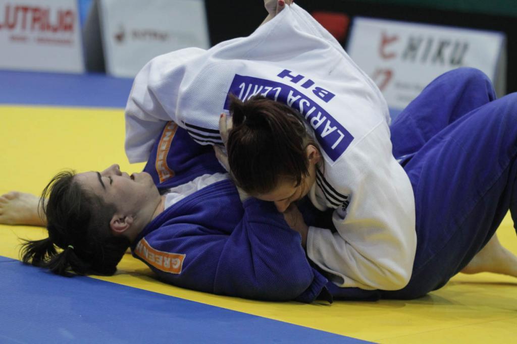 LARISA CERIC WON HER FIFTH GOLD MEDAL IN SARAJEVO