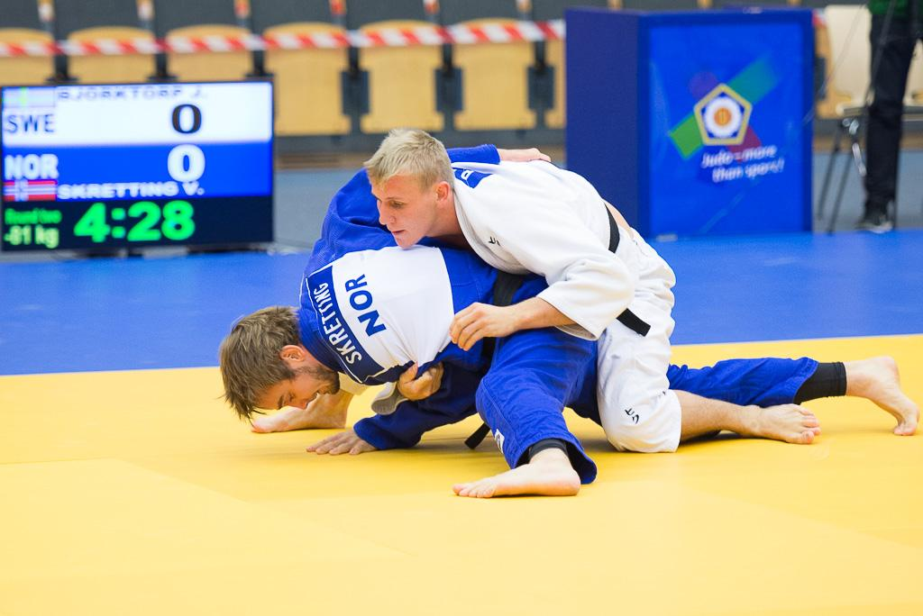 FRANCE DOMINATES AND YOUNG SWEDES MAKE AN IMPRESSION