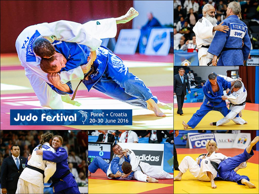 VETERANS PREPARED FOR SHOW APACE WITH THE JUDO FESTIVAL