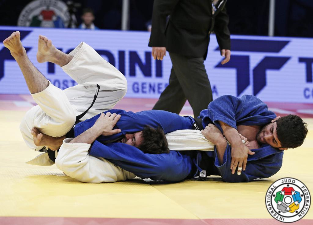 SHAVDATUASHVILI GOLD SIGNALS READINESS FOR RIO