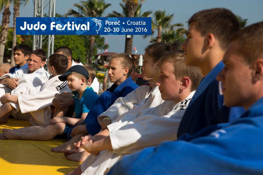 JUDO FESTIVAL 2016: SESSIONS PROGRAMME