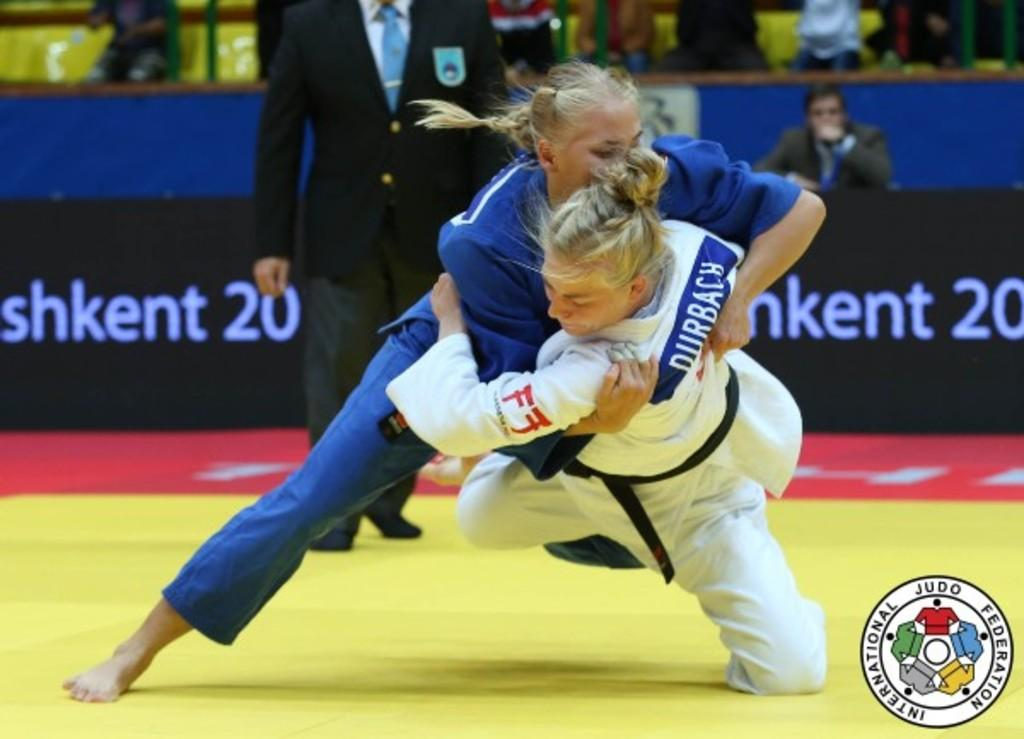 KONKINA SHOWS PROMISE WITH FIRST GRAND PRIX GOLD MEDAL