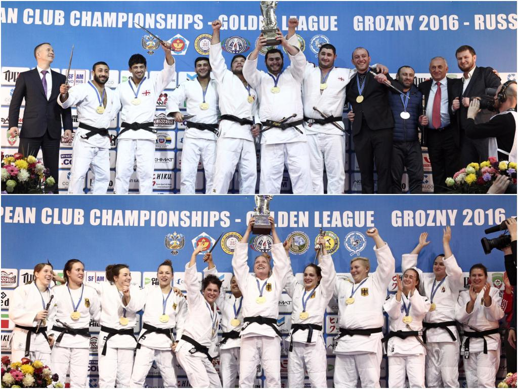 GERMANY AND GEORGIA PROVIDE THE WINNERS OF THE GOLDEN LEAGUE