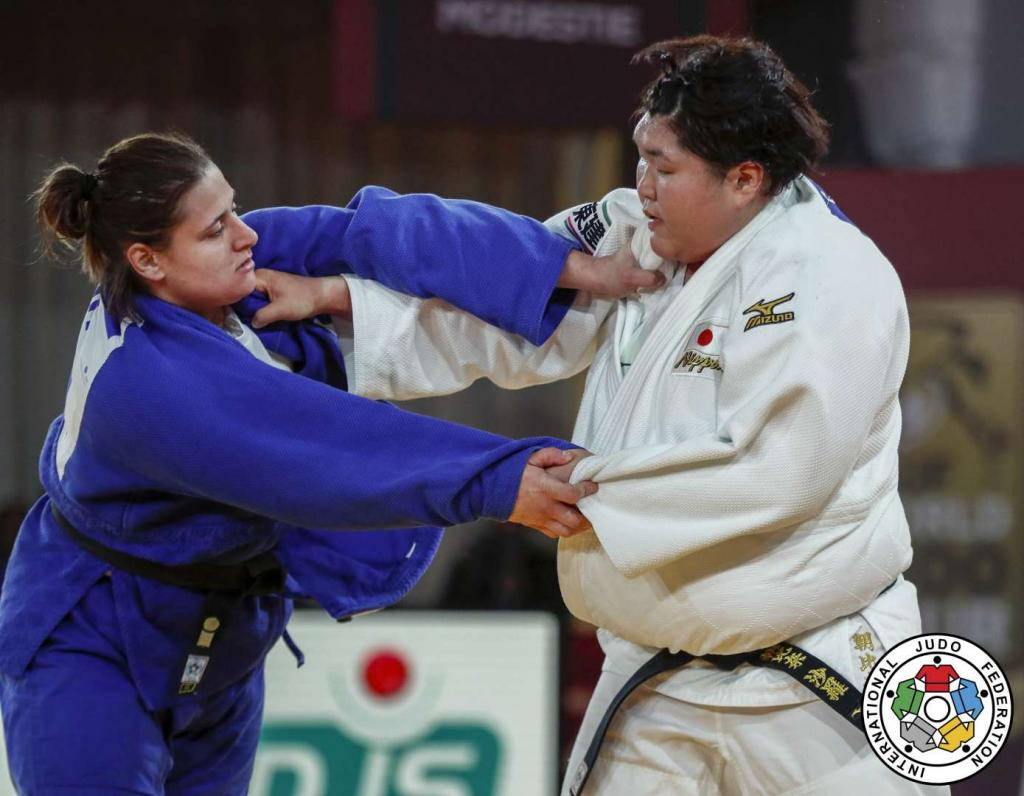 CERIC GRABS PLUCKY SILVER AT WORLD OPEN