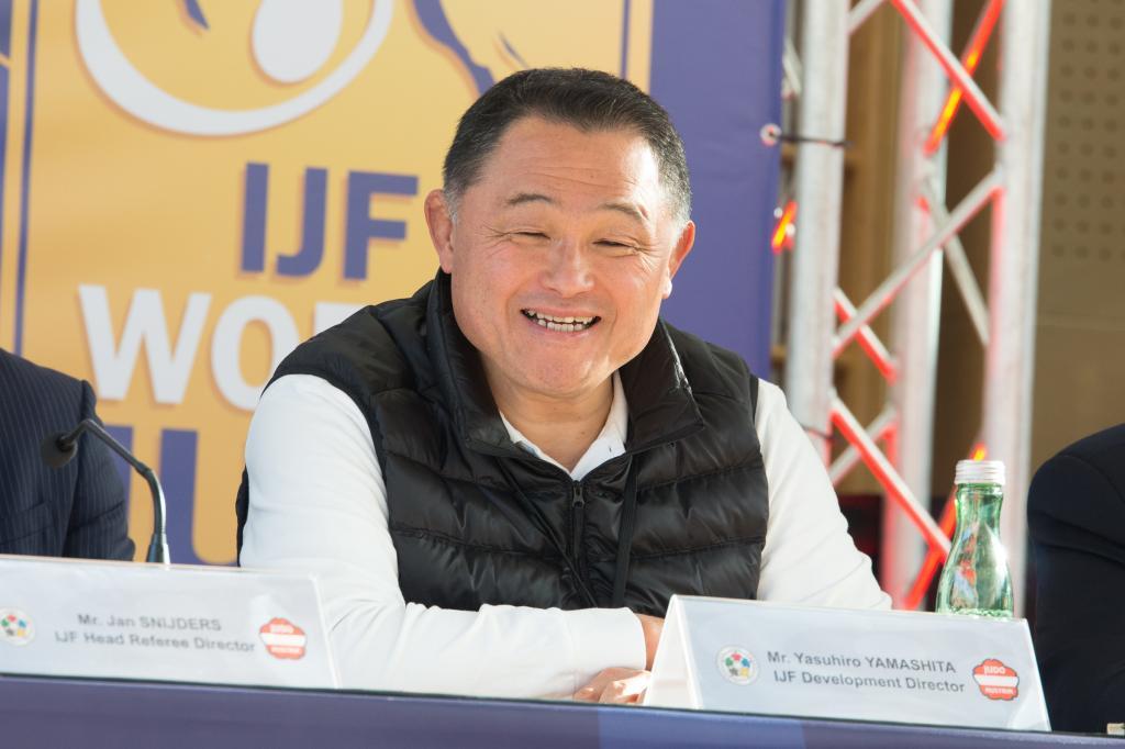 LEGENDARY YAMASHITA SENSEI FIRST TIME IN MITTERSILL