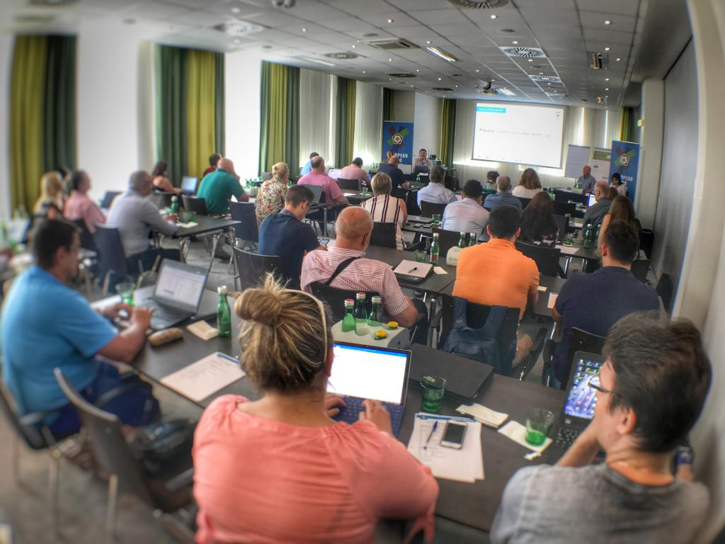 GREAT ATTENDANCE AT THE ADMINISTRATION SEMINAR IN VIENNA
