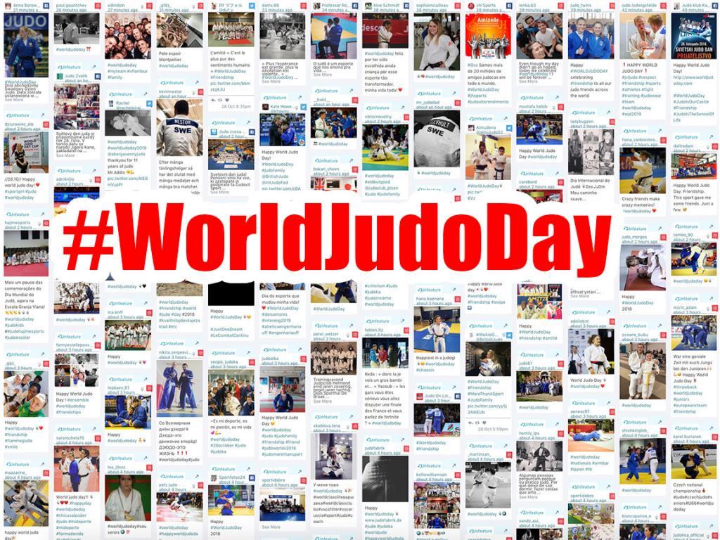 HAPPY WORLD JUDO DAY