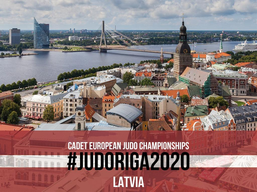 CADET EUROPEANS WILL TAKE PLACE IN RIGA 2020