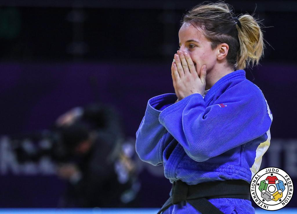 KRASNIQI CROWNS 'BEST YEAR' WITH MASTERS GOLD