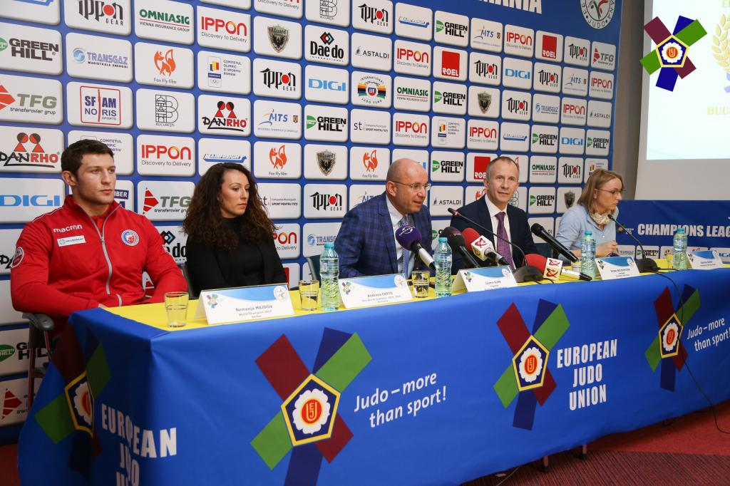 JUDO UNITES IN BUCHAREST
