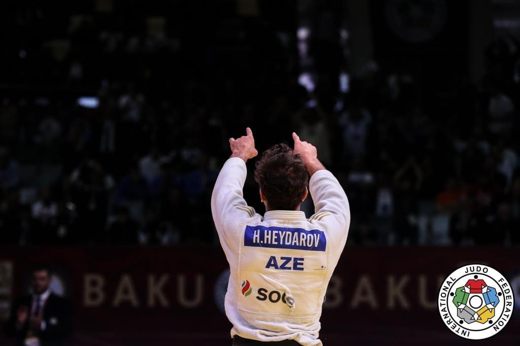BAKU SUCCESS FOR HEYDAROV ON RETURN