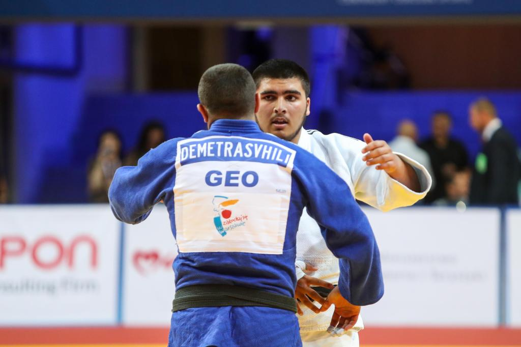 GEORGIANS CONTINUE HEAVYWEIGHT TREND WITH ANOTHER EUROPEAN CHAMPIONSHIP GOLD