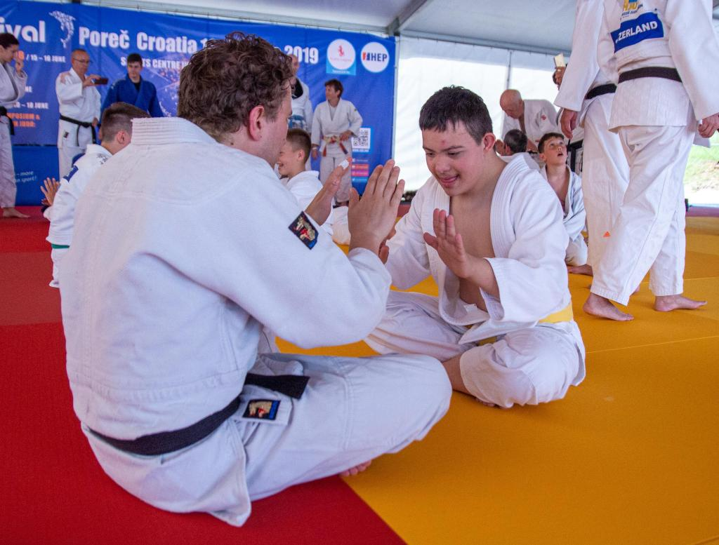SPECIAL NEEDS SEMINAR IS A HIT WITH JUDOKA AND COACHES
