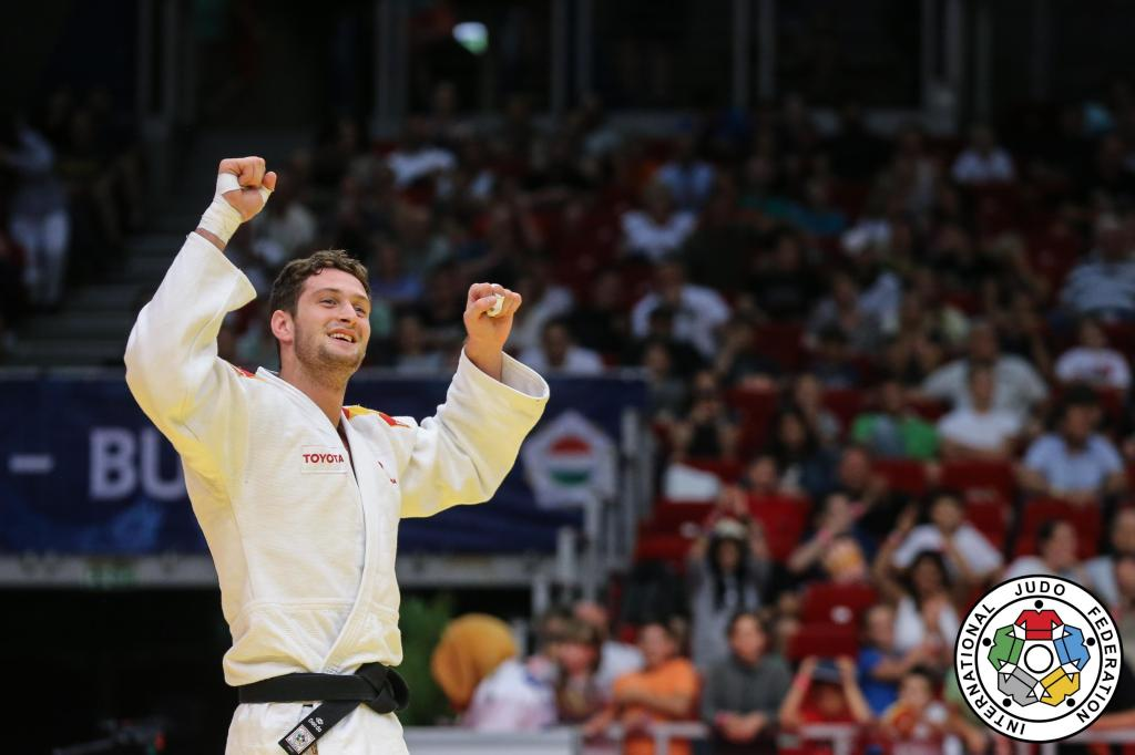 SHERAZADISHVILI GEARS UP FOR WORLDS WITH GRAND PRIX GOLD IN BUDAPEST